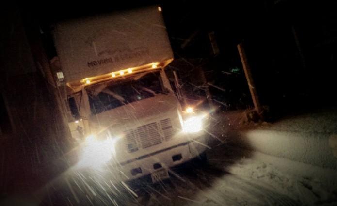 Moving Car at Night